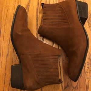 Brown Steve Madden Booties